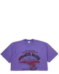 American Apparel Vintage The Master Baiterbobs Bait Shop Cropped T Shirt
