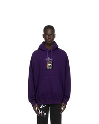 Givenchy Purple Homme Hoodie