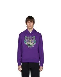Kenzo Purple Tiger Hoodie