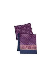 Violet Print Scarf