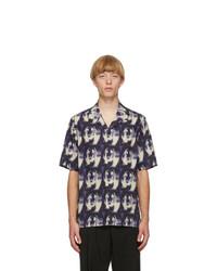 Paul Smith Purple Homer Short Sleeve Shirt