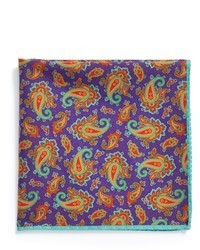 Ted Baker London Cotton Silk Pocket Square