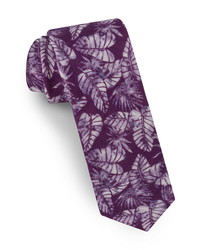 Ted Baker London Palm Leaf Silk Tie