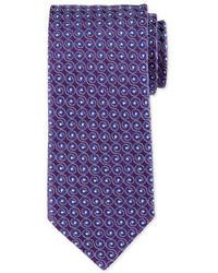 Eton Swirl Print Silk Tie