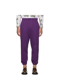 Violet Print Sweatpants