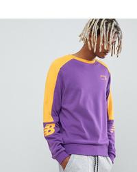 New Balance Miami Brights 90s Sweatshirt In Purple