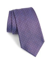 Emporio Armani Check Silk Tie