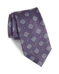 Nordstrom Men's Shop Medallion Silk Tie