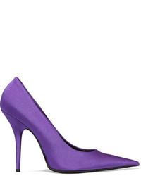 Balenciaga Spandex Pumps Purple
