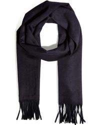 Cashmere scarf in bright violet medium 18209
