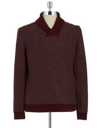 Hudson North Shawl Collared Sweater