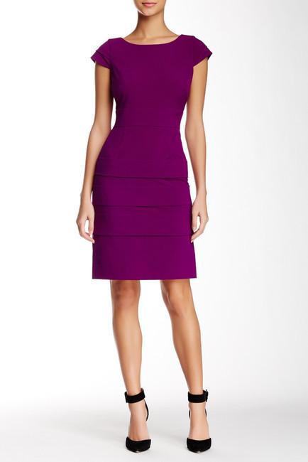 550ca044 Tahari Cap Sleeve Bi Stretch Tiered Sheath Dress, $128 | Nordstrom ...