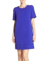 Violet Shift Dress