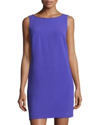 Trina Turk Sol Shift Crepe Dress Purple