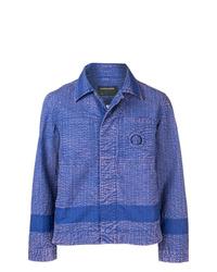 Violet Shirt Jacket