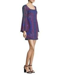 Nanette Lepore Moondance Silk Shift Dress