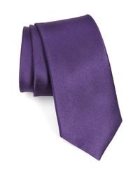 Nordstrom Men's Shop Solid Silk X Long Tie