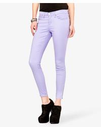 Violet Skinny Jeans