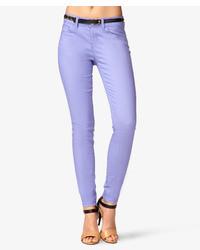 Forever 21 Ankle Length Denim Skinny Jeans