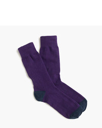 J.Crew Solid Cotton Socks