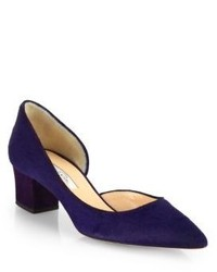 Oscar de la Renta Miss Lulusu Calf Hair Pumps