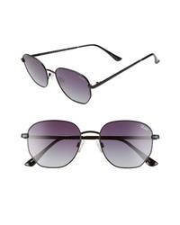 Quay Australia Big Time 48mm Gradient Square Sunglasses