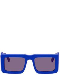 Marcelo Burlon County of Milan Blue Retrosuperfuture Edition Templo Sunglasses