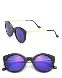 Illesteva Boca Ii 47mm Round Sunglasses