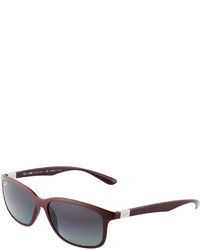 Ray-Ban Rectangular Full Rim Sunglasses Violet