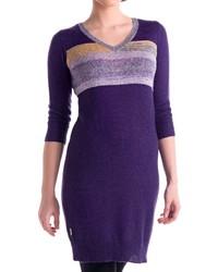 Lole Skylar Sweater Dress 34 Sleeve