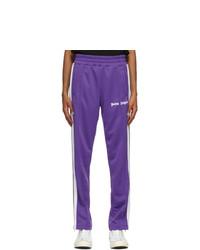 Palm Angels Purple Classic Slim Track Pants