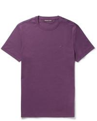 Michael Kors Michl Kors Slim Fit Cotton Jersey T Shirt