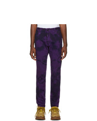 DSQUARED2 Purple Tie Dye Cool Guy Jeans