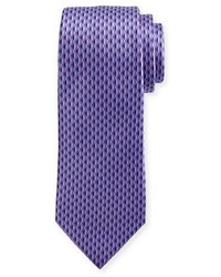 3d diamond neat tie purple medium 3678410