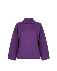 G.V.G.V. Milano Ribbed Bow High Neck Sweater