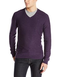 Calvin Klein Jeans 12gg Slub V Neck Sweater