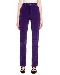 Velvet high rise disco jeans purple medium 3698172