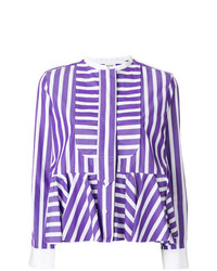 Maison Rabih Kayrouz Striped Fitted Shirt