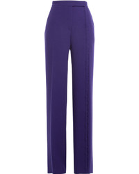 Marco De Vincenzo Wide Leg Wool Pants