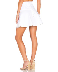 RED Valentino A Line Mini Skirt