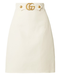 Gucci Embellished Wool And Skirt