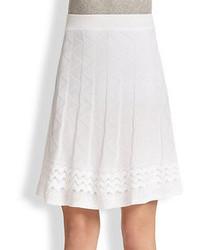 M Missoni Patterned Knit Skirt