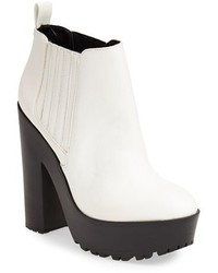 White and black ankle boots original 3178977
