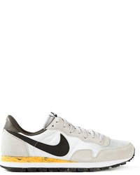 White and Black Athletic Shoes