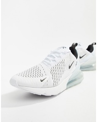 Nike Air Max 270 Trainers In White Ah8050 100