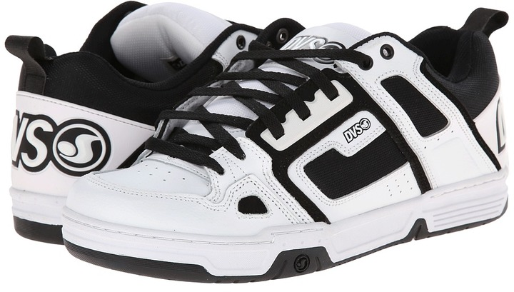 ca4e02c17bb9a0 ... White and Black Athletic Shoes DVS Shoe Company Comanche Skate Shoes ...