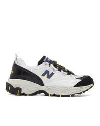 New Balance Grey And Black 801 Sneakers