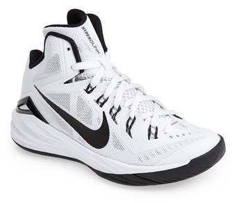 uk availability 90e04 715bd ... france hyperdunk 2014 basketball shoe. white and black athletic shoes  by nike 463f3 8a663