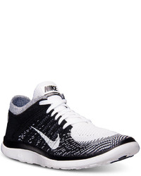 Nike Free Flyknit 40 Running Sneakers From Finish Line