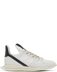 Rick Owens Off White Phleg Runner Sneakers